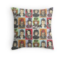 Johnny Pop Throw Pillow