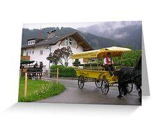 wagons Greeting Card