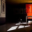 The Orange Door by JimFilmer