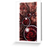 Oy Cherry Greeting Card