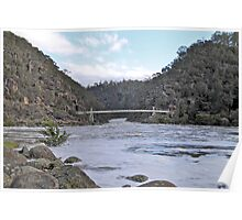 Cataract Gorge in Flood Poster