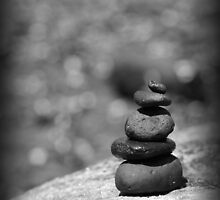 Calm as a Cairn by tracyleephoto