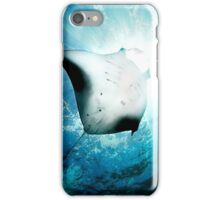 Sun Diver - Manta iPhone Case/Skin