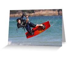 kitesurfer 1 Greeting Card
