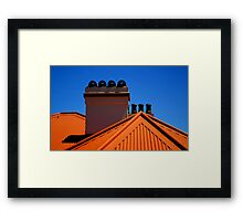 Lighthouse Keepers Cottage - Palm Beach - Sydney - Australia Framed Print