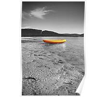 The Yellow Kayak Poster