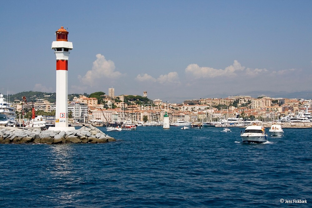 Arrival in Cannes France  by imagic
