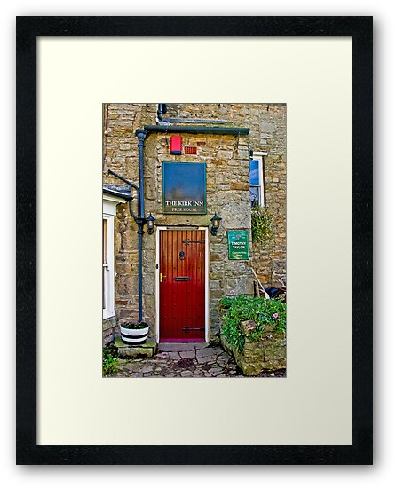 The Kirk Inn - Romaldkirk Co Durham by Trevor Kersley