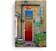 The Kirk Inn - Romaldkirk Co Durham Canvas Print