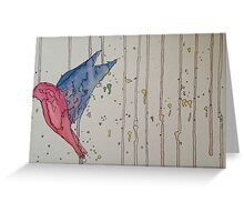 Freebird Greeting Card