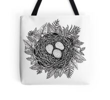 Birds Nest Tote Bag