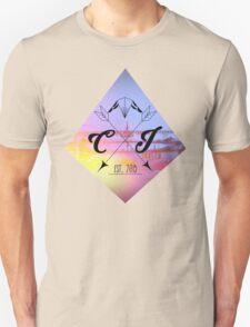 CheapInkBand-Diamond Cross Arrows(Black) T-Shirt