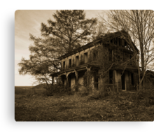 Aged Homestead Canvas Print