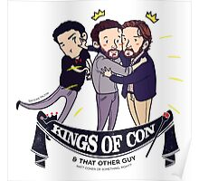 Kings Of Con & Other Guy! (With Text) Poster