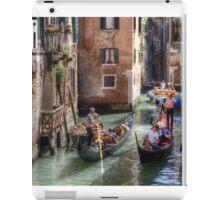 ...traffic jam in Venice.. iPad Case/Skin