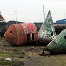 87 - OLD BUOYS AT CAMBOIS (D.E. 2009) by BLYTHPHOTO
