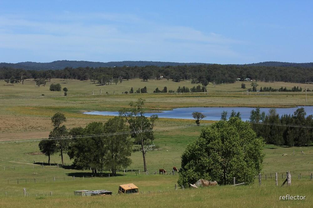 Hunter Valley Farmlands by reflector