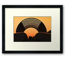The Overpass  Framed Print