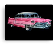 Pink Cadillac Canvas Print