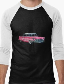 Pink Cadillac Men's Baseball ¾ T-Shirt