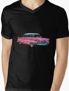 Pink Cadillac Mens V-Neck T-Shirt