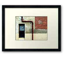 Layers and Changes Framed Print