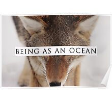 Being As An Ocean - Fox Poster