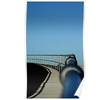 The long and winding path Fence Poster