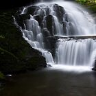 Lower Part of Bridemaids Waterfalls-Bushkill Falls by BigD