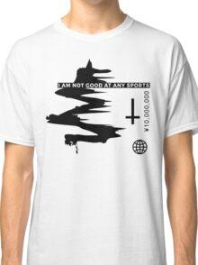 Healthy Swoosh Home Gym T_Shirt Classic T-Shirt