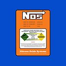 NOS Nitrous Bottle Label by Haxyl