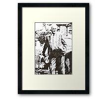 Inspector Morse Framed Print