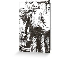 Inspector Morse Greeting Card