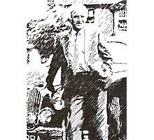 Inspector Morse Photographic Print