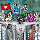 The Jet Fighter's Tour of Love by Laura Hutton