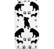 Black Dogs iPhone Case/Skin