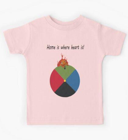Calcifer - Home is where heart is Kids Tee
