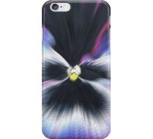 Hyperspace Pansy iPhone Case/Skin