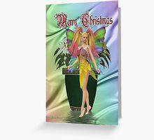 Rainbow Fae Greeting Card