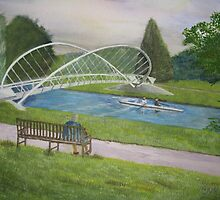 Bedford Butterfly Bridge by Chris Robinson