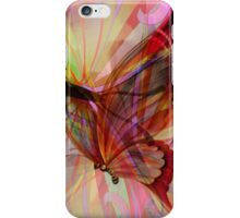 Butterfly Emergence iPhone Case/Skin