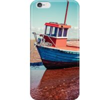 Fishing boat, Meols, Wirral iPhone Case/Skin