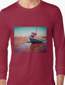 Fishing boat, Meols, Wirral Long Sleeve T-Shirt