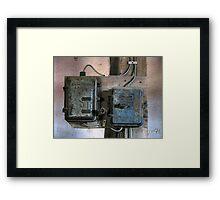 31.10.2009: Electronic Art Framed Print
