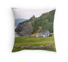 Capstick, Nova Scotia Throw Pillow