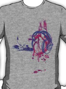 Eat, Sleep, Breathe ... MUSIC (purple) T-Shirt