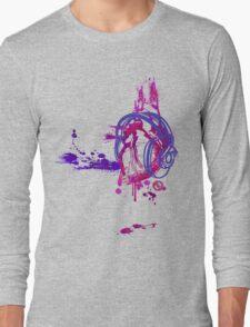Eat, Sleep, Breathe ... MUSIC (purple) Long Sleeve T-Shirt