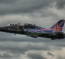 RAF BAE Hawk at Abingdon Airshow 2009 by Mark Sabanathan