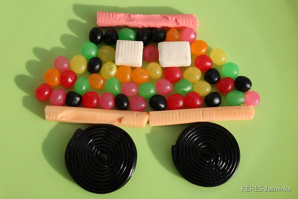 Candy car by KERES Jasminka