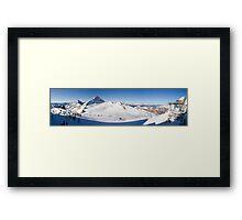 Tux Ski Area Framed Print